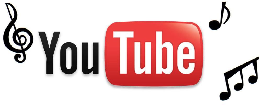 Canal Youtube Departamento de música